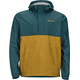 Marmot M's PreCip Anorak Deep Teal/Dirty Gold